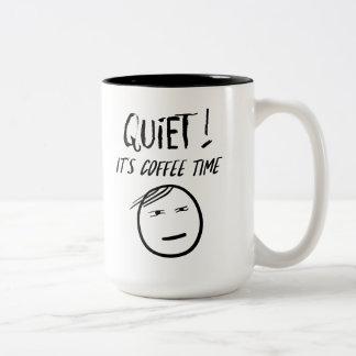 Tranquillité - c'est tasse de temps de café