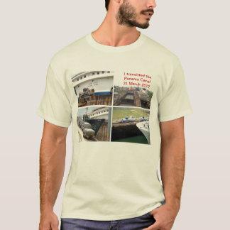 Transit de canal de Panama T-shirt
