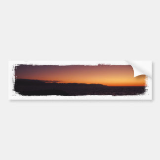 Transition de coucher du soleil adhésifs pour voiture