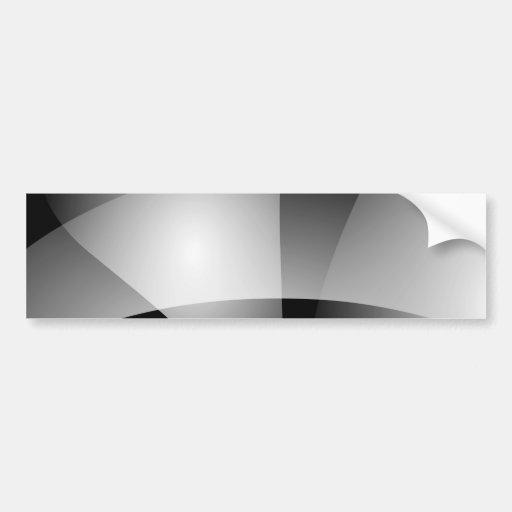 Transition monochrome autocollants pour voiture