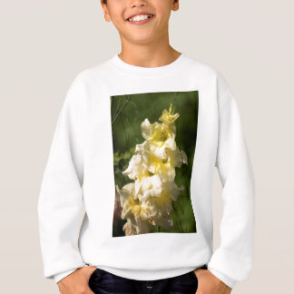 Transitoire jaune de fleur de glaïeul sweatshirt