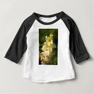 Transitoire jaune de fleur de glaïeul t-shirt pour bébé