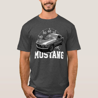 Transmission mécanique de mustang t-shirt