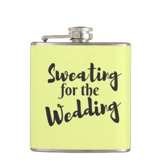 Transpiration pour épouser le flacon enveloppé par