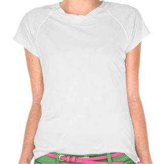 transpiration pour la pièce en t des femmes de t-shirts