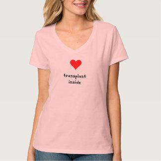 Transplantation cardiaque à l'intérieur t-shirt