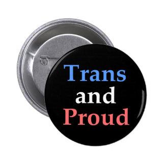 Transport et fier - gay pride badge