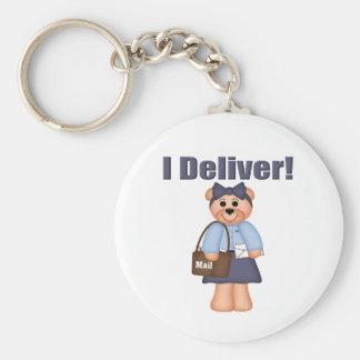 Transporteur de lettre porte-clef