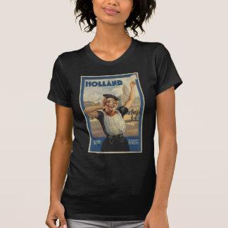 Transports aériens vintages de la Hollande T-shirt