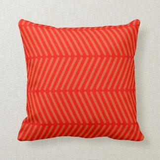 Transversale Orange Lines Coussin