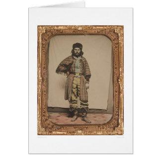 Trappeur de fourrure (40056) carte de vœux