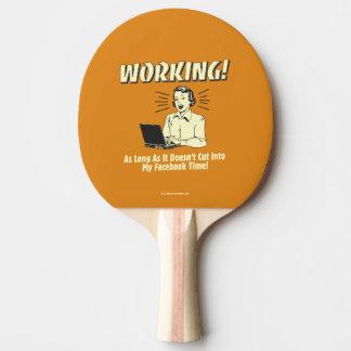 Travail : Coupez en temps de Facebook Raquette Tennis De Table
