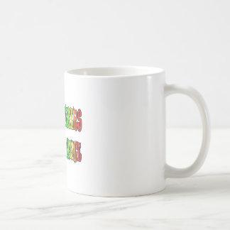 Travail d'assistants sociaux pour le changement mug