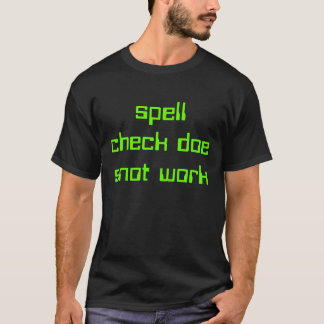 travail de morve de daine de contrôle de charme t-shirt
