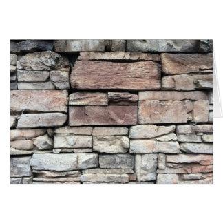 Travail en pierre, carte