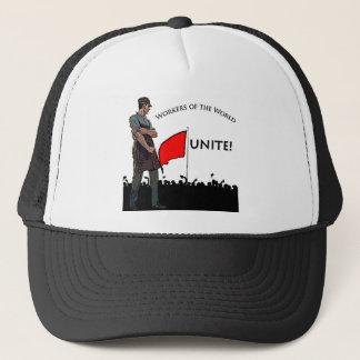 Travailleurs du monde casquette