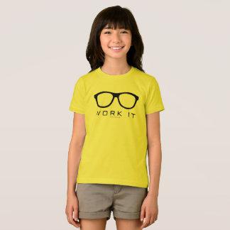 Travaillez-le l'amour nerd 72marketing de chemise t-shirt