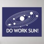 Travaillez Sun ! Affiches