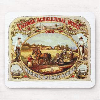 Travaux agricoles de Lagonda Tapis De Souris