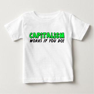 Travaux de capitalisme t-shirt pour bébé