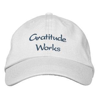 Travaux de gratitude - casquette