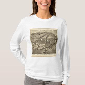 Travaux en verre de Belmont, Bellaire, Ohio T-shirt