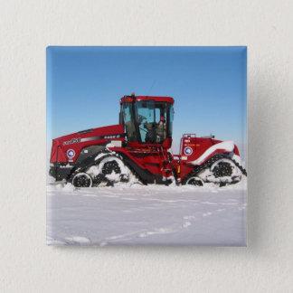 Traversée du tracteur arctique badges