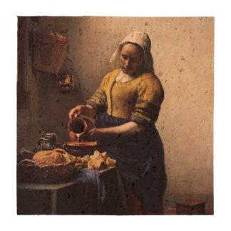 Trayeuse par Johannes Vermeer Sous-bocks