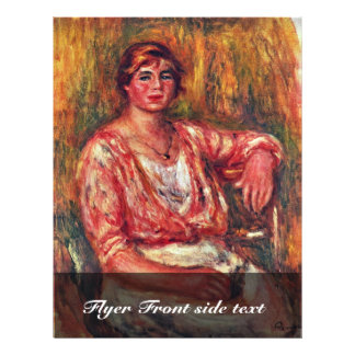 Trayeuse par Pierre-Auguste Renoir (la meilleure Prospectus 21,6 Cm X 24,94 Cm