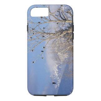 Treeful des aigles chauves s'approchent de coque iPhone 7