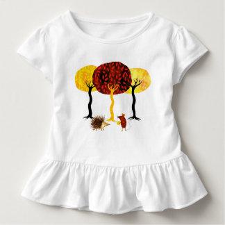 Trees and friends t-shirt pour les tous petits