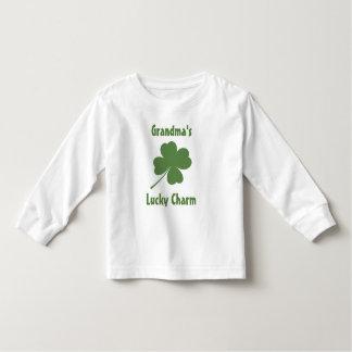 Trèfle chanceux du charme 4-Leaf T-shirts