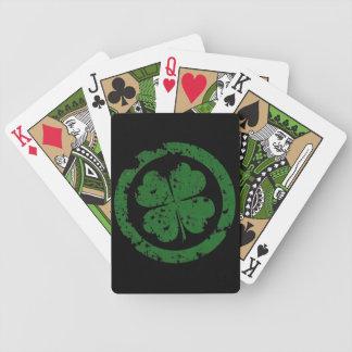 Trèfle chanceux jeu de poker