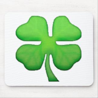 Trèfle - Emoji Tapis De Souris