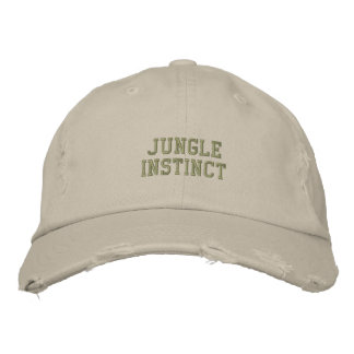 Trekkers de label_Ladies d'Instinct™ de jungle Casquette Brodée