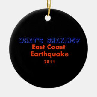 Tremblement de terre 2011 de Côte Est - que secoue Décoration De Noël