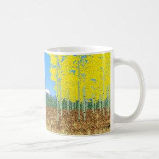 trembles en automne mug