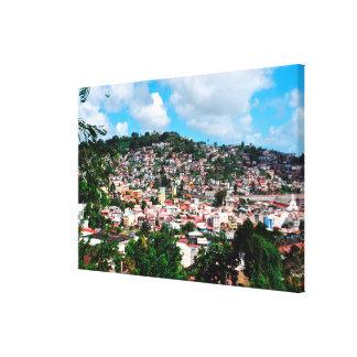 Trénelle quartier de Fort-de-France, Martinique Toile
