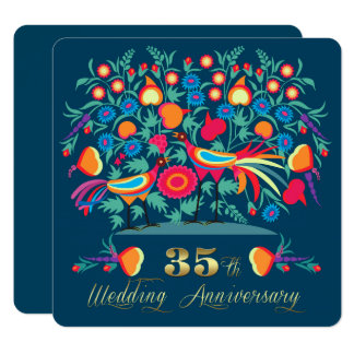 trente-cinquième Invitations de fête