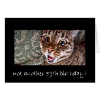 trente-neuvième anniversaire cartes
