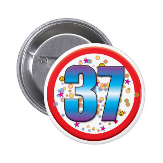 trente-septième Anniversaire v2 Pin's