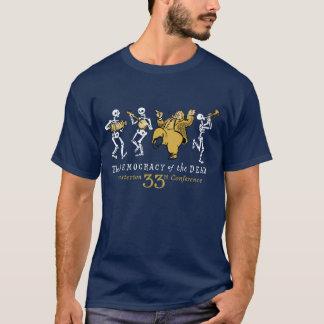 trente-troisième T-shirt de conférence de