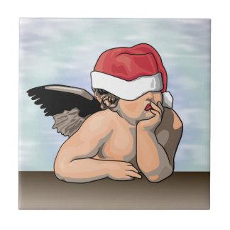 Trépied de tuile d ange de Noël Carreaux