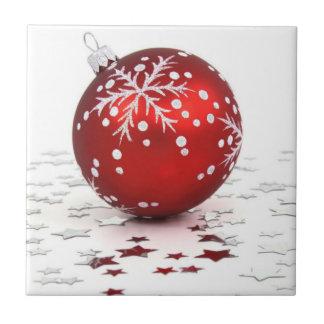 Trépied de tuile d ornement de Noël Carreaux