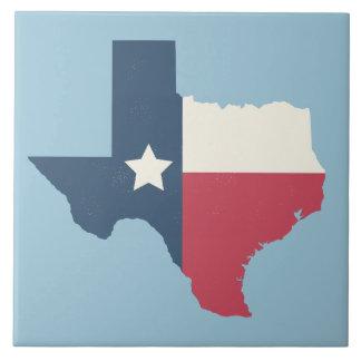 Trépied de tuile de drapeau d'état du Texas Grand Carreau Carré