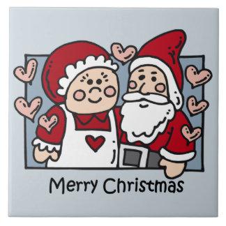 Trépied de tuile de Joyeux Noël Carreaux