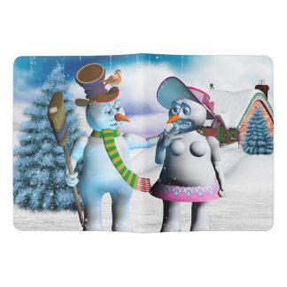 Très Grand Carnet Moleskine Femmes drôles de bonhomme de neige et de neige