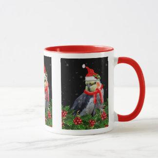 Très une tasse de Noël de baie