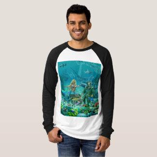 Trésor du récif coralien de la sirène t-shirt