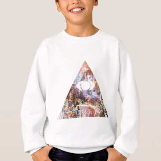 Triangle de galaxie sweatshirt
